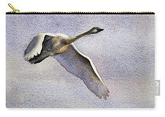 Carry-all Pouch featuring the painting Early Riser by Kris Parins