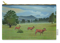 Early Spring Evergreen Carry-all Pouch