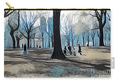 Early Spring - New York Carry-all Pouch by Miriam Danar
