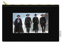 Earp Brothers And Doc Holliday Approaching O.k. Corral Tombstone Movie Mescal Az 1993-2015 Carry-all Pouch
