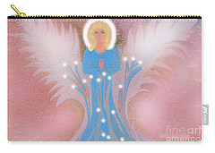 Carry-all Pouch featuring the digital art Earth Angel Of Love by Sherri Of Palm Springs