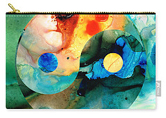 Earth Balance - Yin And Yang Art Carry-all Pouch