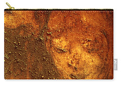 Carry-all Pouch featuring the painting Earth Face by Winsome Gunning