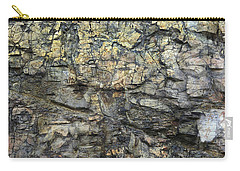 Carry-all Pouch featuring the photograph Earth Memories - Stone # 6 by Ed Hall