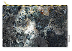 Carry-all Pouch featuring the photograph Earth Memories - Stone # 8 by Ed Hall