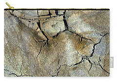 Carry-all Pouch featuring the photograph Earth Memories-thirsty Earth by Ed Hall