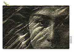 Carry-all Pouch featuring the photograph Earth Memories - Water Spirit by Ed Hall