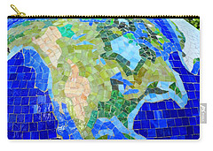 Earth Mosaic 1 Carry-all Pouch by Randall Weidner
