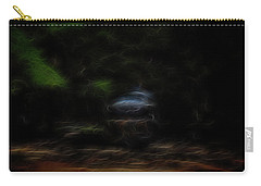 Carry-all Pouch featuring the digital art Earth Spirit 3 by William Horden