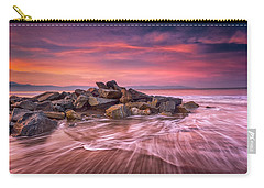 Carry-all Pouch featuring the photograph Earth, Water And Sky by Edward Kreis