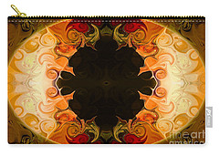 Earthly Undecided Bliss Abstract Organic Art By Omaste Witkowski Carry-all Pouch