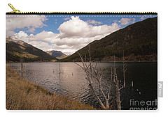 Earthquake Lake Carry-all Pouch by Cindy Murphy - NightVisions