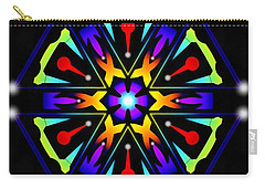 Carry-all Pouch featuring the digital art Earthscape Six by Derek Gedney
