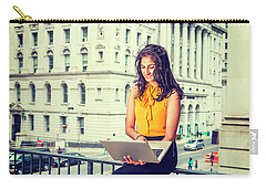 East Indian American Businesswoman In New York Carry-all Pouch