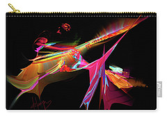 Carry-all Pouch featuring the painting East Of The Sun by DC Langer