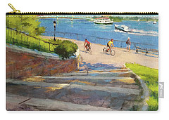 East River From Carl Schurz Park Carry-all Pouch