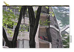 Carry-all Pouch featuring the photograph East West Gate 4  by Sarah Loft