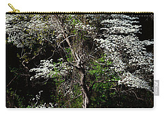 Easter Dogwood Carry-all Pouch by Tamyra Ayles