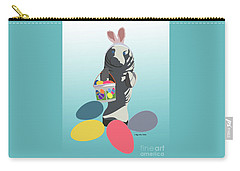 Easter Manatee Carry-all Pouch by Megan Dirsa-DuBois