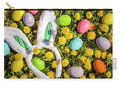 Carry-all Pouch featuring the photograph Easter Morning by Teri Virbickis