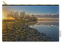 Carry-all Pouch featuring the photograph Easter Sunrise by Frans Blok