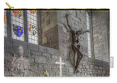 Carry-all Pouch featuring the photograph Easter  The Resurrection Of Jesus by Ian Mitchell
