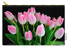 Easter Tulips  Carry-all Pouch by Jeannie Rhode