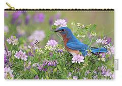 Eastern Bluebird - D010120 Carry-all Pouch