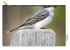 Carry-all Pouch featuring the photograph Eastern Kingbird 2018 by Ricky L Jones