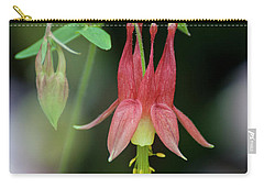 Eastern Red Columbine - D010104 Carry-all Pouch