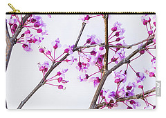 Eastern Redbud Carry-all Pouch by Elena Nosyreva
