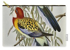 Eastern Rosella Carry-all Pouch by John Gould