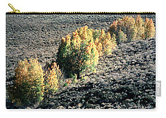 Eastern Sierra Nevada Autumn Landscape Carry-all Pouch by Wernher Krutein
