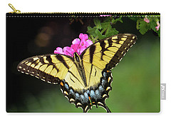 Eastern Tiger Swallowtail Carry-all Pouch by Amy Porter