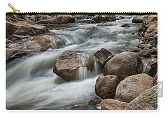 Carry-all Pouch featuring the photograph Easy Flowing by James BO Insogna