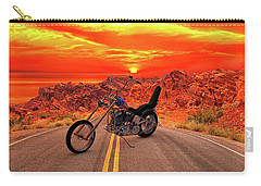 Easy Rider Chopper Carry-all Pouch by Louis Ferreira