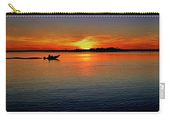 Easy Sunday Sunset Carry-all Pouch by Allen Beilschmidt