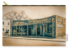 Carry-all Pouch featuring the photograph Eat And Drink by Lou Novick