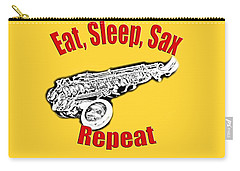 Eat Sleep Sax Repeat Carry-all Pouch