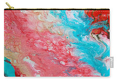 Ebb And Flow Carry-all Pouch by Carolyn Repka