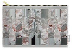 Ebony And Ivory Pink Blush Peony - Floral Abstract Carry-all Pouch