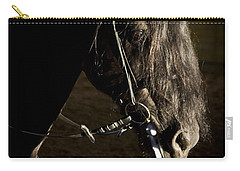 Carry-all Pouch featuring the photograph Ebony Beauty D6951 by Wes and Dotty Weber