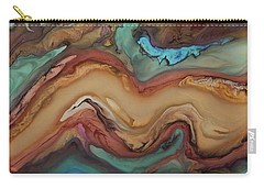 Ebru Canela Carry-all Pouch by Angel Ortiz