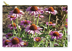 Echinacea Carry-all Pouch by Cynthia Powell
