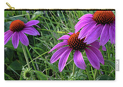 Echinacea Carry-all Pouch by Mikki Cucuzzo