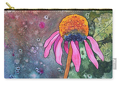 Echinacea Carry-all Pouch by Nancy Jolley