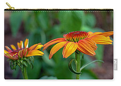 Echinacea Side View Carry-all Pouch