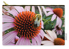 Echinacea Tea Time For Bee Carry-all Pouch