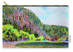 Echo Lake Beach, Acadia Carry-all Pouch