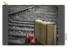 Echoes Of A Past Life Carry-all Pouch by Patrice Zinck